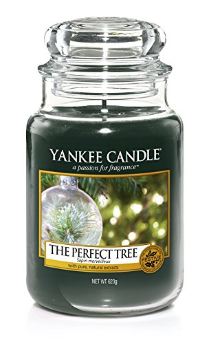 Yankee Candle Classic Perfect Tree, grün, großes Glas -