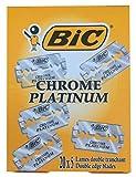 Bic Chrome Platinum Lot de 100lames de rasage