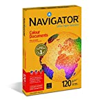 Navigator Colour Documents Carta Premium per ufficio, Formato A4, 120 gr, 1 Risma da 250 Fogli