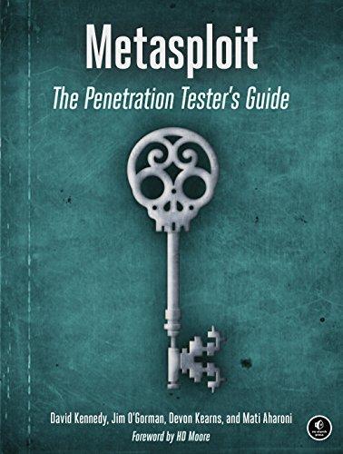 Metasploit: The Penetration Tester's Guide por David Kennedy
