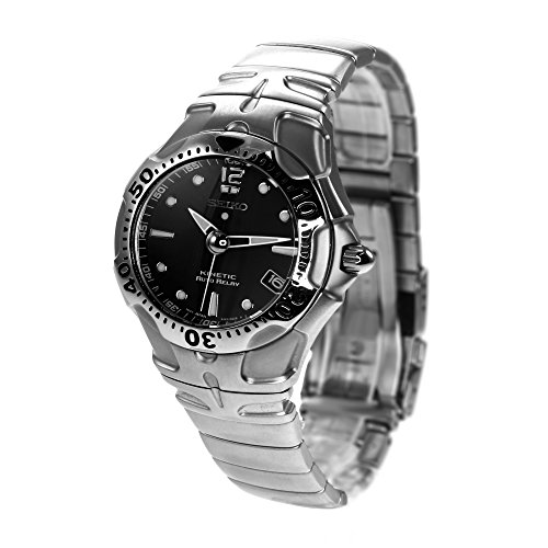 Seiko SNA003P5 - Reloj de pulsera Unisex, Acero inoxidable, color Multicolor