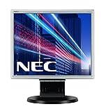 NEC MultiSync E171M 43,27cm 17Zoll TFT LCD 1280x1024 analog+digital Hoehenverstellbar VESA 1000:1 5ms 250cd schwarz-silbener Rahmen