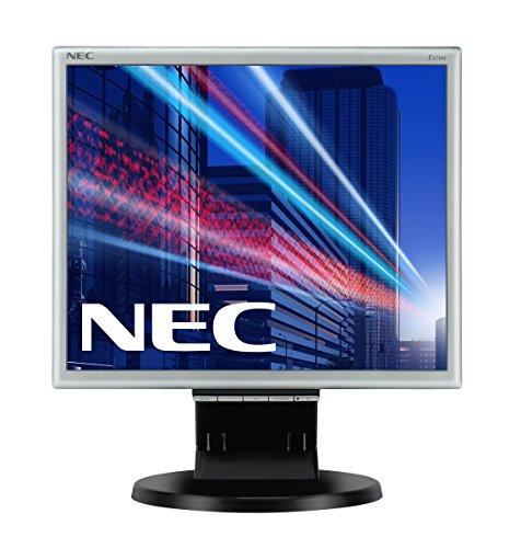 NEC MultiSync E171M 43,27cm 17Zoll TFT LCD 1280x1024 analog+digital Hoehenverstellbar VESA 1000:1 5ms 250cd schwarz-silbener Rahmen 17 Flat Panel Lcd Monitor