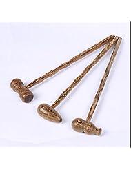 MMZLL Hammer masajeador/vibrador/beat/Salud/Fitness hammer martillo hammer/martillo de madera de caoba de puntos de los meridianos , 2
