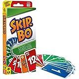 Mattel Games 52370 Skip-Bo und W2087 UNO Kartenspiel, Spielesammlung  Kartenspiele ab 7 Jahren