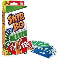 Mattel 52370-0 - Skip-BO, Kartenspiel + Mattel W2087 - UNO, Kartenspiel