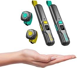 Ridingtoo RT1 Wearable Walkie Talkie Intercom für Sport Radfahren Klettern Skifahren Surfen Outdoor 1-3km Unbegrenzte Anzahl von Benutzern 400-470MHz 0.5W Bluetooth kompatibel IP67 Wasserdicht (Paar)