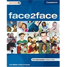 Face2face Pre-Intermediate Student's Book with CD ROM Klett Edition