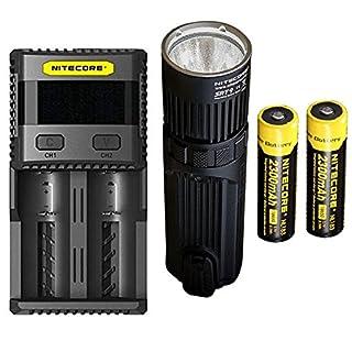 Combo: Nitecore SRT9 Flashlight -2150 Lumens w/2x NL183 Battery & SC2 Charger