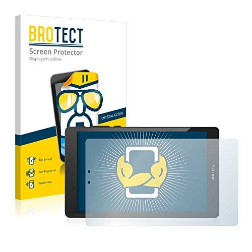 BROTECT Schutzfolie kompatibel mit Archos 80 Cesium [2er Pack] klare Bildschirmschutz-Folie