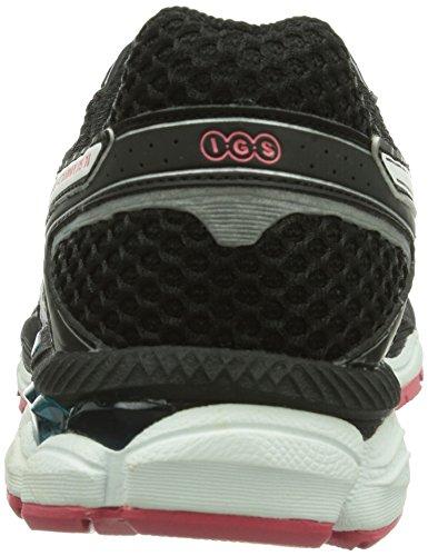 AISCS Gel-Cumulus 16, Chaussures de running Femme Argenté (Aluminium/White/Paradise Pink 7101)