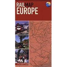 Rail Map of Europe (Rail Maps)