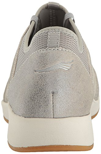 Dansko Womens Cozette Sneaker Light Grey Suede