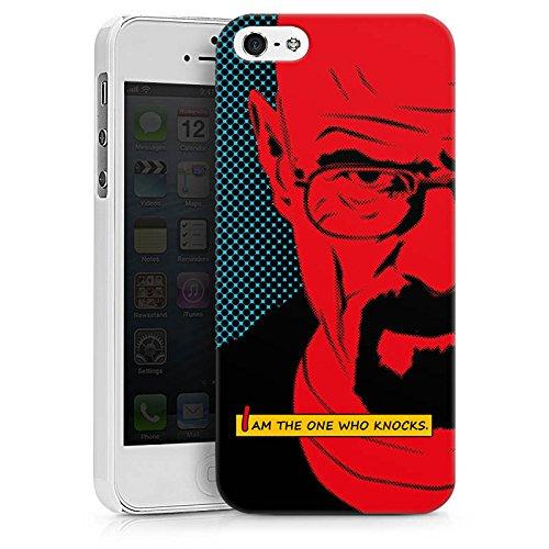 Apple iPhone 6s Hülle Case Handyhülle Walter White Breaking Bad Heisenberg Hard Case weiß