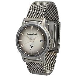 Messerschmitt KR 200Cmil Automotive Cult Swiss Ronda 515movement Stainless Steel Watch Milanese Bracelet