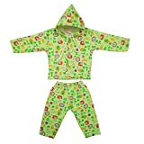 Littly Winter Baby Suit With Hood (Green...