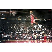 Póster Michael Jordan Slam Dunk Contest (Mate) (88cm x 59 ...