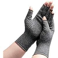 Hehong Arthritis-Handschuhe Kompressions-Handschuhe Offene Finger-Hand-Handschuhe bieten Arthritic Gelenkschmerzen... preisvergleich bei billige-tabletten.eu