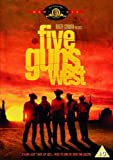 Five Guns West [DVD] by Mike Connors
