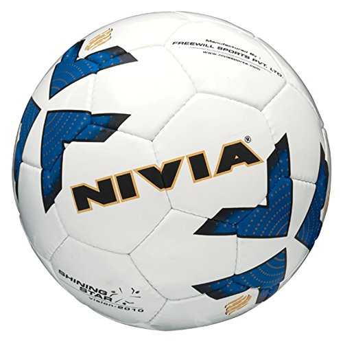 Nivia Shining Star Football, Size 5 (White)  available at amazon for Rs.500
