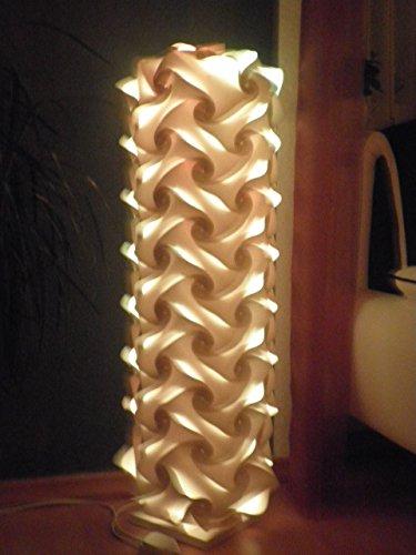 Standleuchte Venedig , Höhe 90cm - Durchmesser 30 cm , inkl. 16 Farben LED Farbwechsler mit Infrarot Fernbedienung , 85-240Volt , Fassung E 27