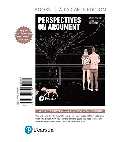 Perspectives on Argument: Books a La Carte Edition (9 Argumente Schreiben Edition)