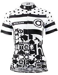 APTRO® Frauen Kurzarm Regular Fit Radtrikot Radshirt Bikeshirt Fahrrad Trikot 608 Größe XS-XXL