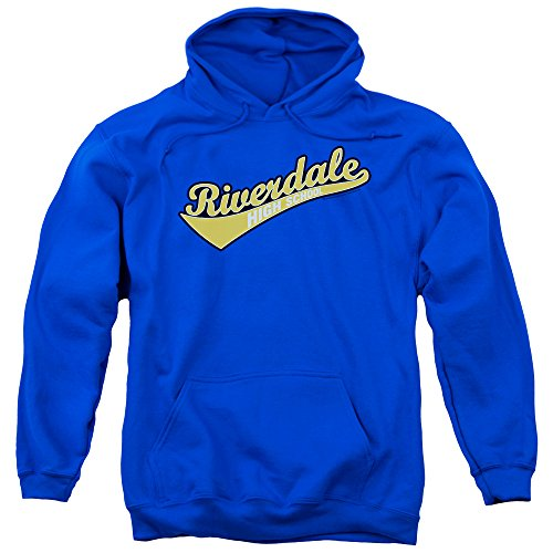 Archie Veronica Kostüm Comics - Archie Comics Riverdale High School Kostüm Cartoon Comic Erwachsene Pull-Over Hoodie, Herren, blau, Medium