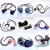 LED-Mafia LAMPENFASSUNG T5 T10 HB3 HB4 H7 H8 H11 7440 7443 Fassung Stecker Kabel Soffitte 2X 30mm - 43mm