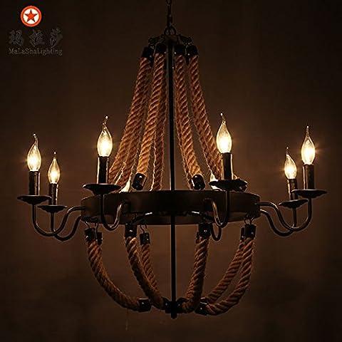 Soy un glamoroso con candelabros de hierro Vintage candelabro, 8