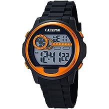 Ref. K5667/4 Reloj Marea Caballero, digital, alarma, luz, crono, correa de caucho negro, sumergible 100 metros, garantía 2 años.