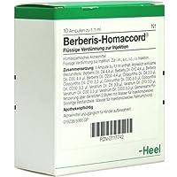 BERBERIS HOMACCORD 10St Ampullen PZN:117742 preisvergleich bei billige-tabletten.eu
