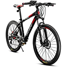 VTT Extrbici Vélo Tout Terrain électrique XF900 en Alliage d'Aluminium 17x26 Pouces Vélo de Montagne avec Dérailleur 24 Vitesses 250W Panasonic Li-batterie au Lithium 36V-5.8A Shimano M310