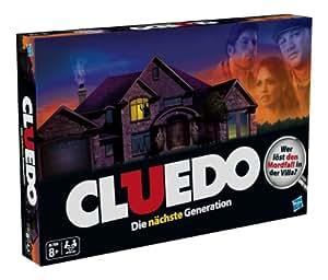 Hasbro Spiele 38712100 – Cluedo, Familienspiel