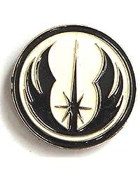 Pin de metal esmaltado, insignia broche Star Wars orden del guerrero Jedi Insignia