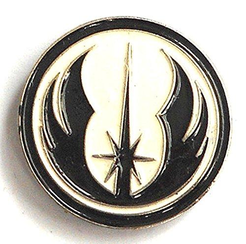 Metallo smaltato Spilla di ordine di Star Wars Jedi Warrior Insignia