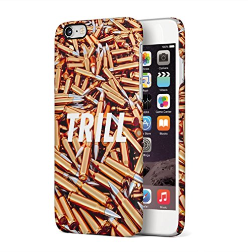 Thug Life Golden Bullets Apple iPhone 6 / iPhone 6S SnapOn Hard Plastic Phone Protective Custodia Case Cover Trill Bullets