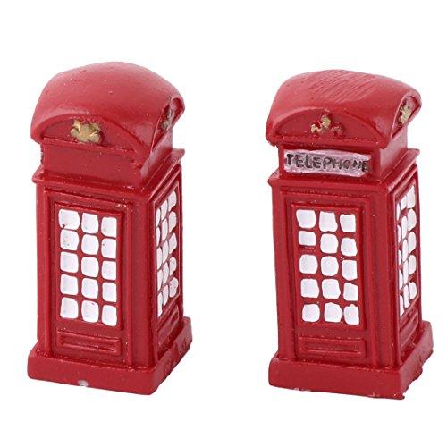 Miniatur-gemüse-garten (sourcingmap® 2 Stk Telefon Stand Design Schreibtisch Tischdekoration Modell Landschaft Rot)