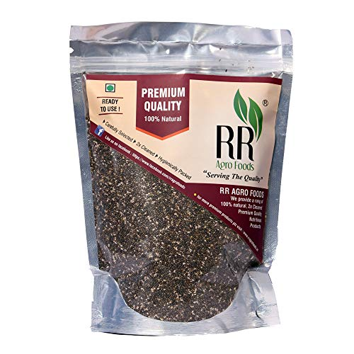 R R AGRO FOODS Chia Seeds Pack of (500)