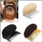 Haar Former Kamm Haare Erhöhen Haarpflege Haar Styling Zubehör Hochsteckfrisur Beige