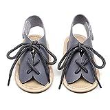 Sommer Sandalen, Baby Mädchen Strand Leder Gummi Sohle Erste Wanderer Schuhe, Säuglingswanderschuhe Bootie