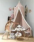 Baby Baldachin Betthimmel Kinder Babys Bett Baumwolle Hängende Moskiton für Schlafzimmer Ankleidezimmer Spiel Lesen Zeit