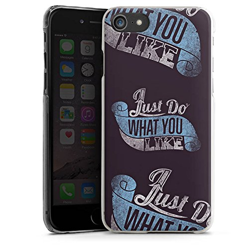 Apple iPhone X Silikon Hülle Case Schutzhülle College Schule Spruch Hard Case transparent