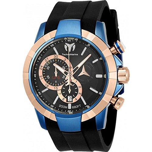 technomarine-uf6-homme-45mm-bracelet-silicone-noir-boitier-acier-inoxydable-quartz-montre-tm-615015