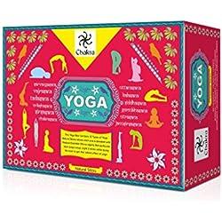Yoga natural y la mano Incienso de diseño - 12 fragancias para 12 Asanas - 120 Palillos hechos de aceites esenciales naturales y productos a base de plantas - crea una atmósfera espiritual de Yoga y Meditación