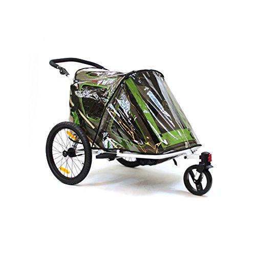 Qeridoo Zubehör Regenschutz für Speedkid2 Fahrradanhänger, 25689