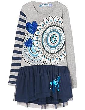 Desigual Mädchen Kleid Vest_roug