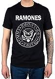 Official Ramones Seal Jumbo T-Shirt Punk Rock Band Johnny Joey