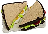 #6: Agnika Creations Handmade Food Fridge Magnet - Miniature Egg Sandwich