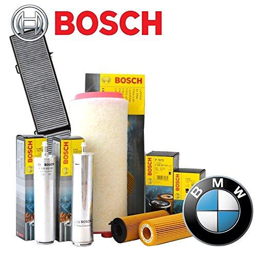 Preisvergleich Produktbild Inspektionskit 4Filter Bosch BMW 318d 320d E46von 1998bis 200185100kW